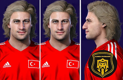 PES 2021 Faces Tugay Sanli by Alireza