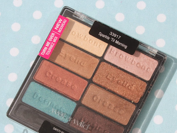 Wet n Wild Palette - Sparkle 'Til Morning Swatches & Review