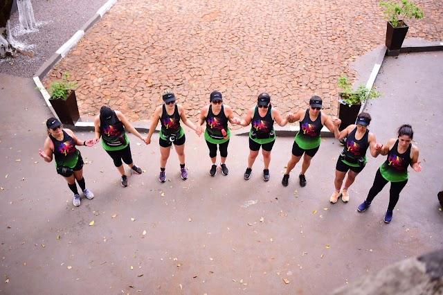 Atletas roncadorenses encaram a pé o trecho Roncador a Nova Cantu