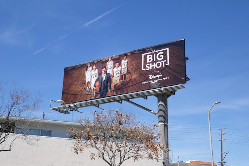 Big Shot series premiere billboard