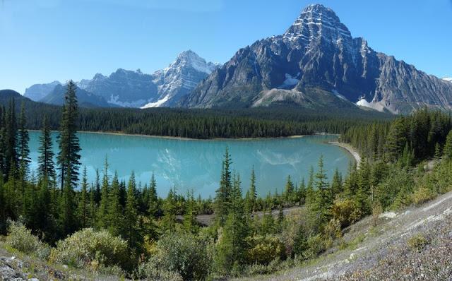 Lake and Mountain at Banff National Park