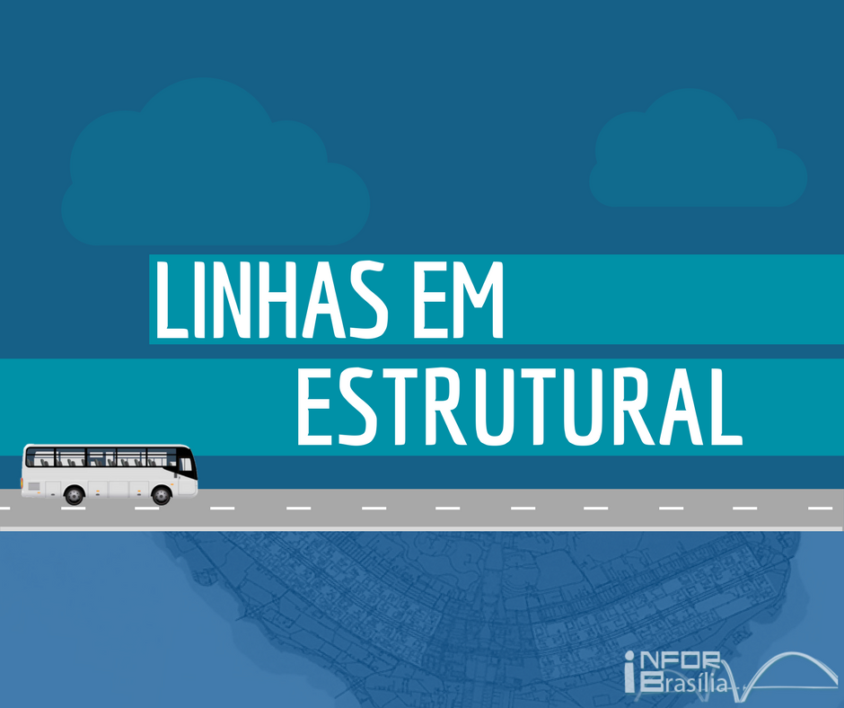 Horário de ônibus das linhas da Estrutural