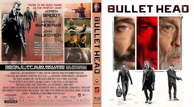 Bullet Head Bluray Cover
