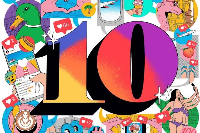 Instagram 10. yıl dönümü için yeni özellikler getirdi!