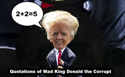 free MEME by gvan42 satire of Mad King Donald the Corrupt #Impeach tRUMP NOW!