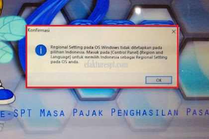 Windows 10   eSPT PPh 21 Error Regional Setting Pada OS WIndows