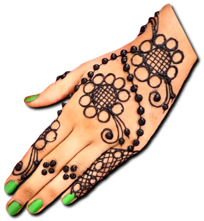 Arabic mehndi designs for back side of hand
