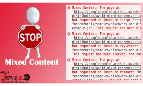 Mengatasi mixed content Setelah Setting HTTPS Blog