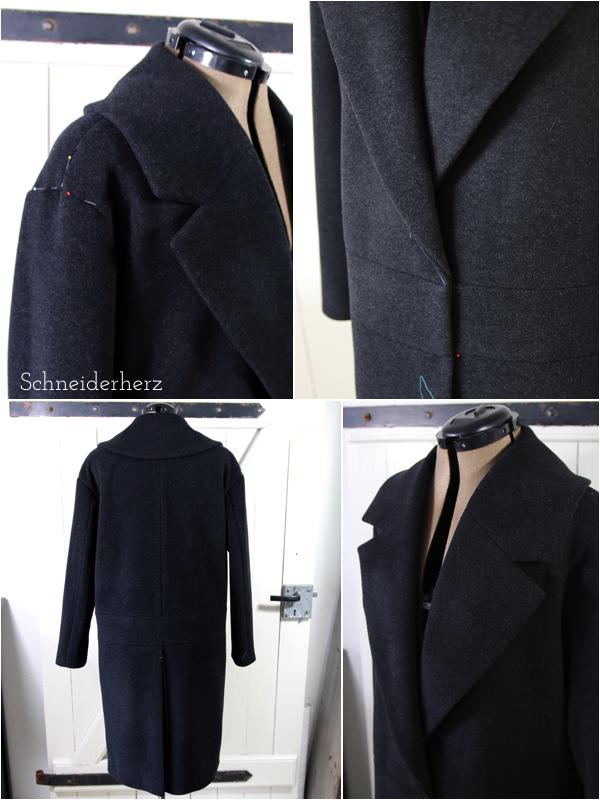 Mantel ohne futter nahen