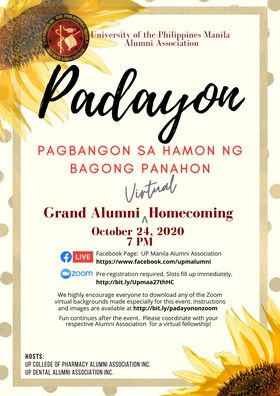 UP Manila Grand Alumni Virtual Homecoming