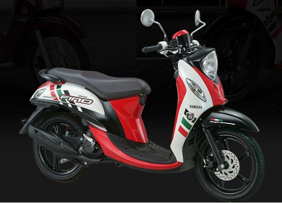 gambar motor yamaha fino terbaru 2015