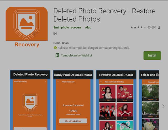 5+ Cara Mengembalikan Foto yang Terhapus di HP Android 6