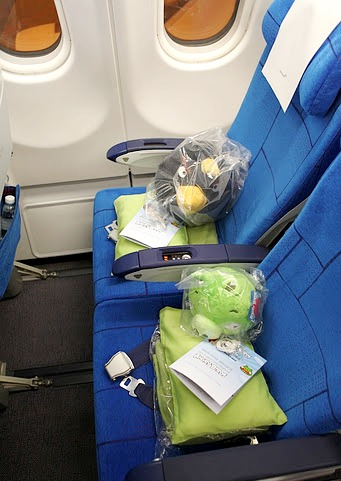 finnair angry birds asian challenge cabin seats