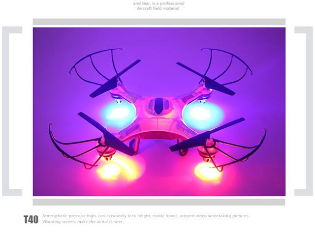 Hình ảnh thực tế máy bay UFO drone SCN006