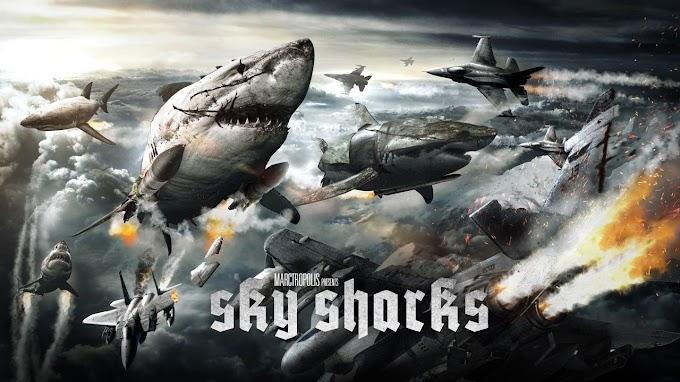 Trailer para Sky Sharks, la película que de tiburones zombies voladores nazis que se ha convertido en nuestra peli favorita