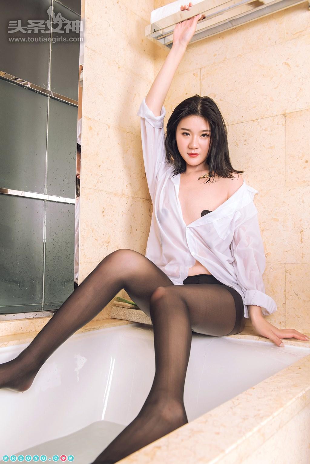 Image TouTiao-2017-10-09-Various-Models-MrCong.com-032 in post TouTiao 2017-10-09: Người mẫu tổng hợp (42 ảnh)