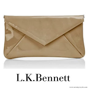 Queen Maxima carried L.K. Bennett clutch