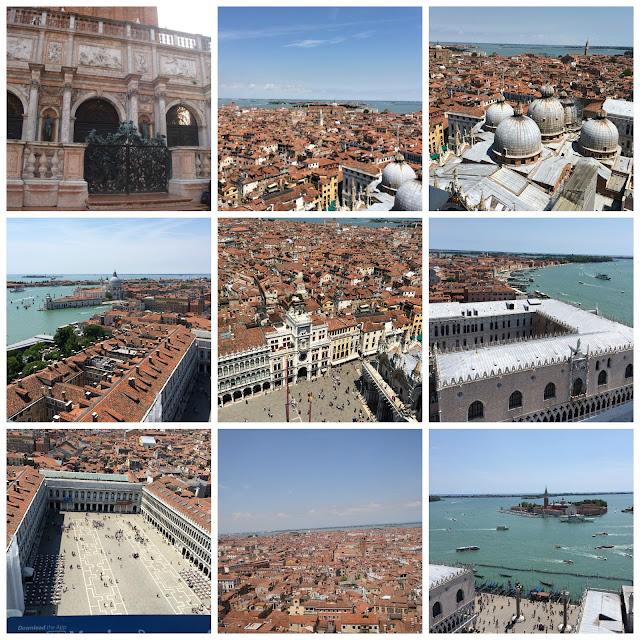 Veneza vista do alto do Campanario da Piazza San Marco