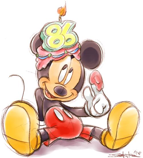 The Disney Freaks Blog Happy Birthday Mickey Mouse