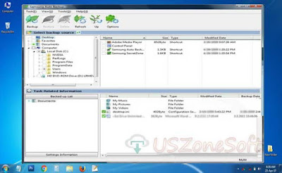 Samsung Auto Backup download- backup complete data of your whole Samsung hard drive or Seagate hard drives