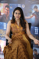Rakul Preet Singh smiling Beautyin Brown Deep neck Sleeveless Gown at her interview 2.8.17 ~  Exclusive Celebrities Galleries 213.JPG