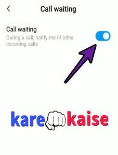 call-waiting-chalu-karna-sikhe