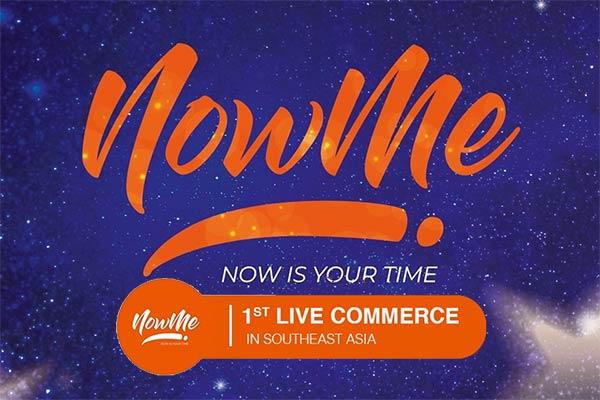 Aplikasi NowMe Dengan Live Commerce Pertama di Asia Tenggara