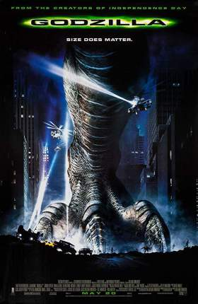 Godzilla 1998 Full Movie Dual Audio Hindi BluRay 480p Download