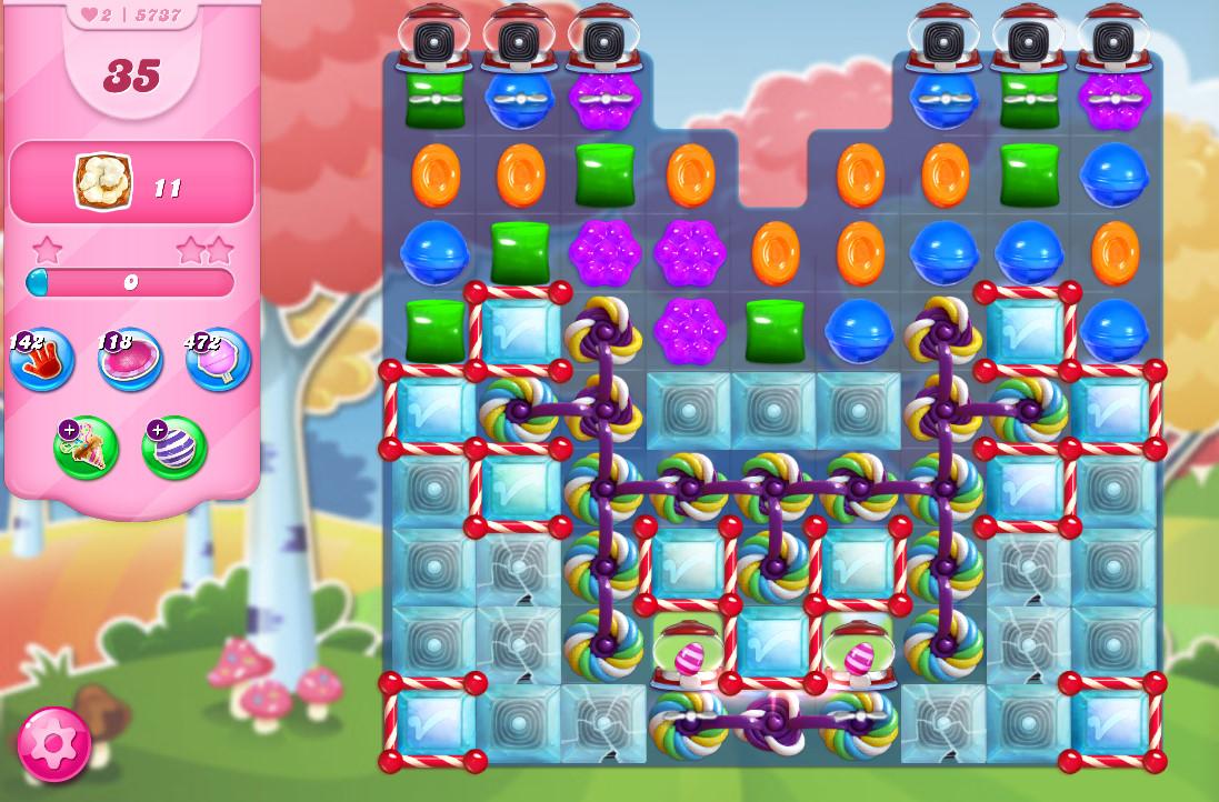 Candy Crush Saga level 5737