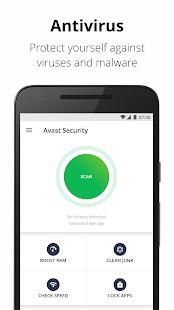 تحميل تطبيق حماية الهاتف Avast Mobile Security & Antivirus