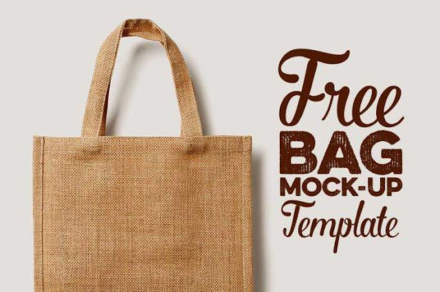30+ Best Free Shopping Bag Mockup PSD