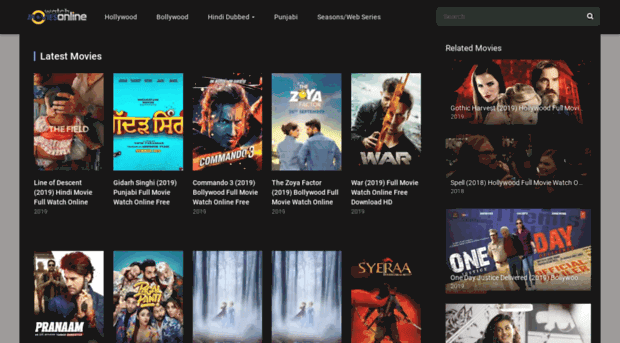 Onlinemovies4you Hollywood Dubbed in Hindi, Bollywood Movies Download & New Domain Link