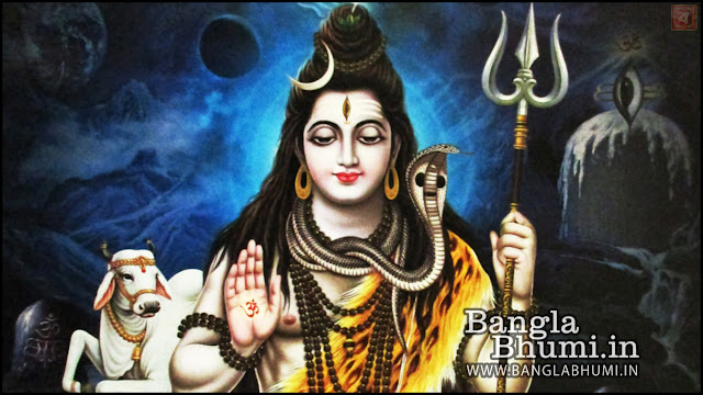 Lord Shiva Mahadev Indian God 1366x768 Wide Wallpaper