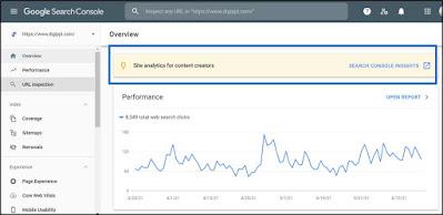 google search console insights analytics digippl