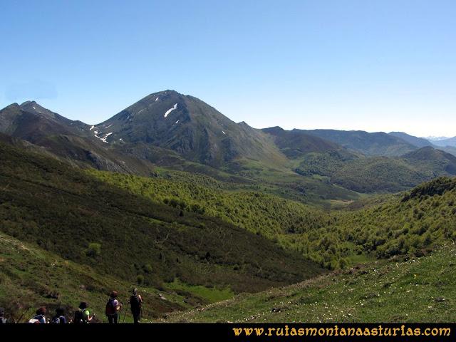 Transcantábrica Tarna-Ponga: Camino a la collada de Mascaredo