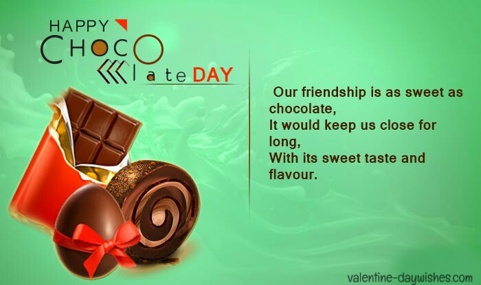 Chocolate day wishes 2020