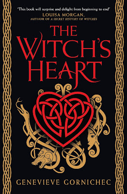 The Witch's Heart by Genevieve Gornichec book cover