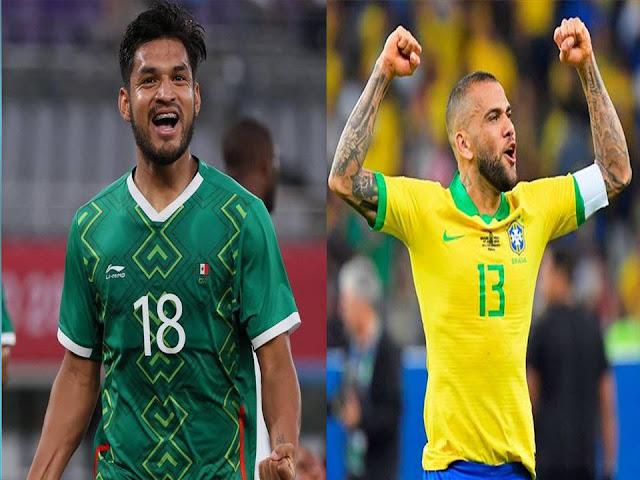 Ayo Nonton Live Streaming Semifinal Olimpiade Sepakbola BRASIL VS MEXICO Jam 15.00, Berikut LINKnya
