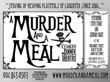 Murder and a meal dinner theatre presents""