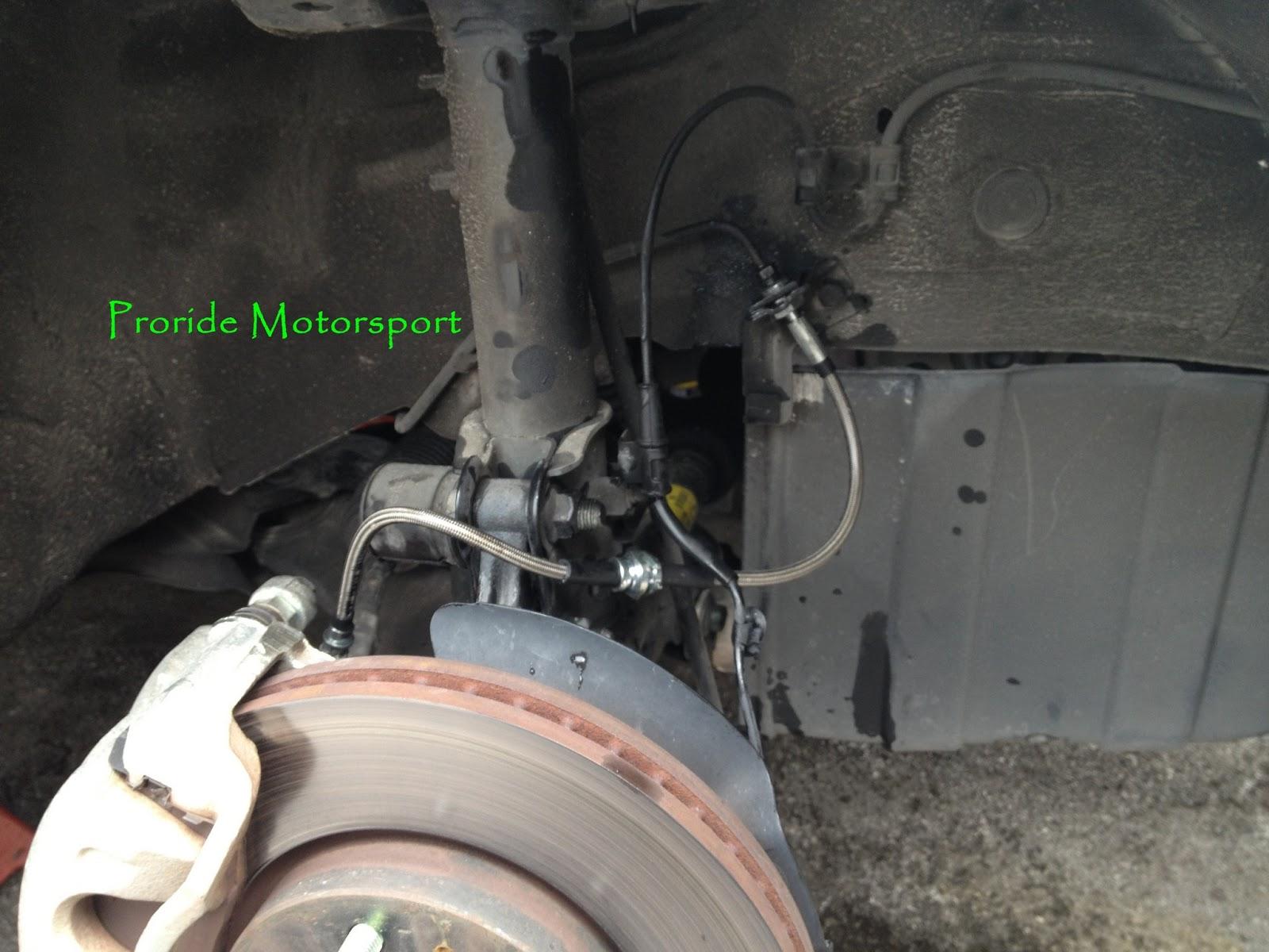 Pro Ride Motorsports Pro Rs Safebrake Steel Braided Brake