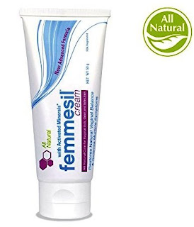 Feminine Care All-Natural Vaginal Ointment 100% Guaranteed Gentle Fast Relief from yeast infections vaginal itch odor irritation soreness burning and restores pH balance – by Femmesil ™ 28g tube Ultra product photo