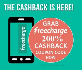 Freecharge Loot – Get upto 200% Cashback on Recharge & Bill Payments of Rs.50 and above