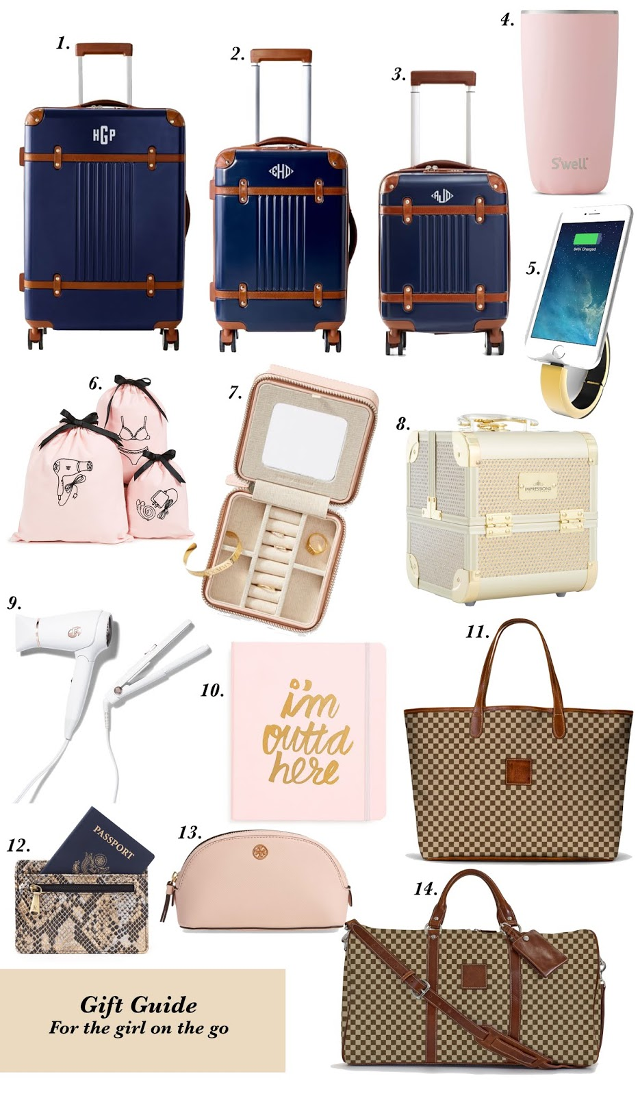 Gift Guide for the Girl On the Go - Something Delightful Blog