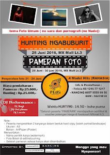 Hunting Ngabuburit MXMall Malang Juni 2016