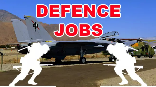 Defence Jobs Notifications