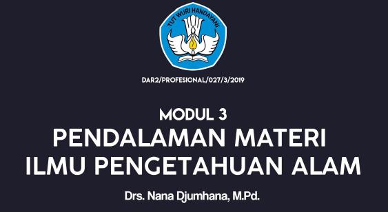 PGSD Modul 3 Ilmu Pengetahuan Alam - jalurppg.id