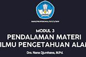 PGSD Modul 3 Ilmu Pengetahuan Alam