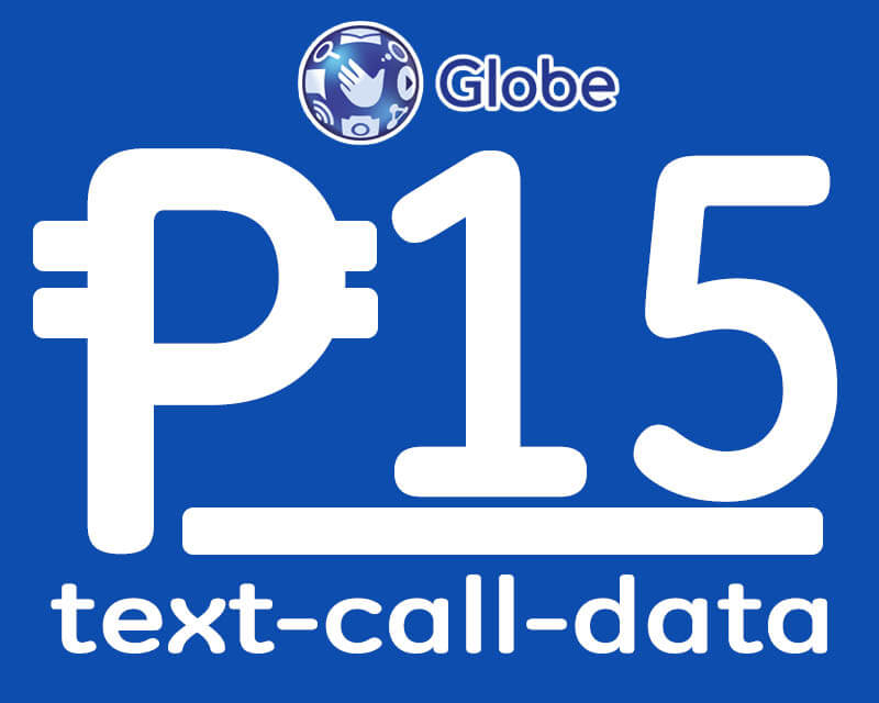 Globe List Of 15 Pesos Promo For Call Text And Data Howtoquick Net