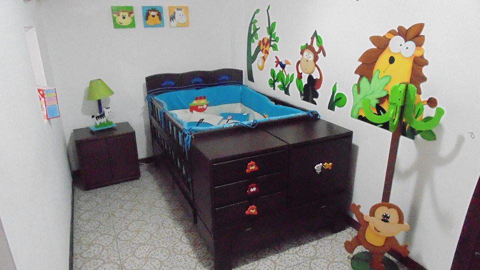 Ideas para cuartos de bebes la habitacin de beb con estrellas hudson dormitorios de beb muy - Como decorar habitacion bebe ...