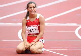 المغربية رباب العرافي تفشل في بلوغ نهائي سباق 800 متر بأولمبياد طوكيو
